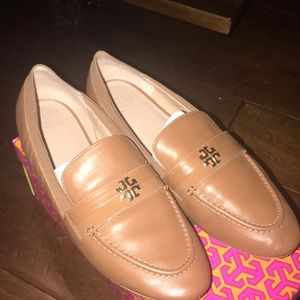 Tory Burch Jolie Loafer Flat Leather Shoe